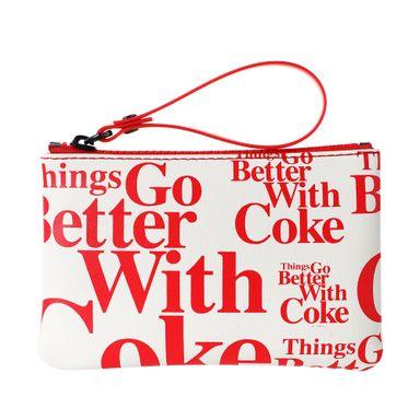 Monedero blanco coca cola - Miniso