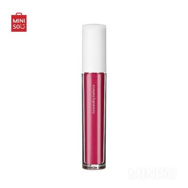 Lápiz labial líquido metálico extra matte # 8  3.5 gr outstanding -  Miniso