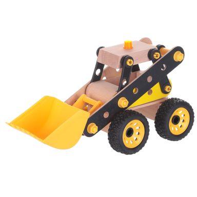 Juguete de madera vehículo de construcción -  Miniso