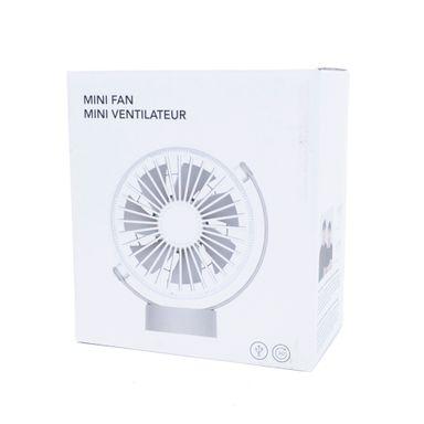 Mini ventilador mod ms-2613d blanco - Miniso
