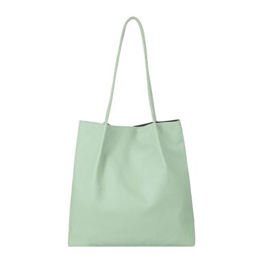 Bolsa tote korean style simple verde claro -  Miniso