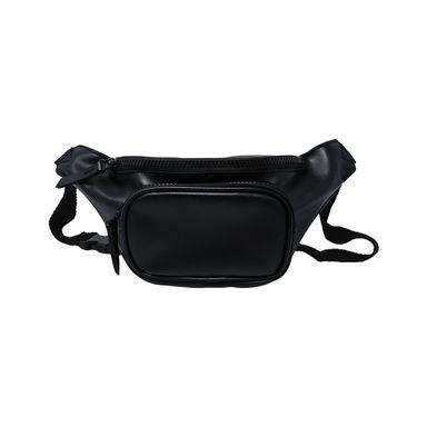 Cangurera deportiva color solido negro -  Miniso