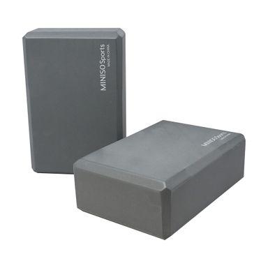 Ladrillo de polietileno para yoga gris -  Miniso