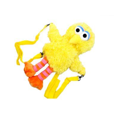 Mochila de moda peluche abelardo amarillo -  Plaza Sésamo